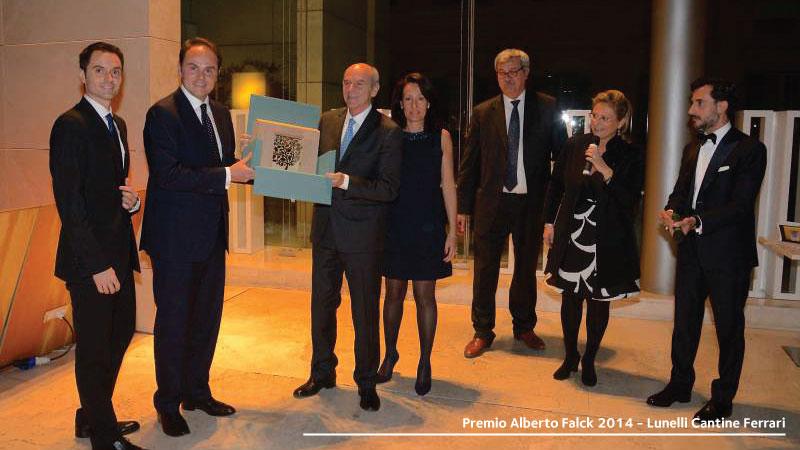Premio Alberto Falck 2014 - Lunelli Cantine Ferrari