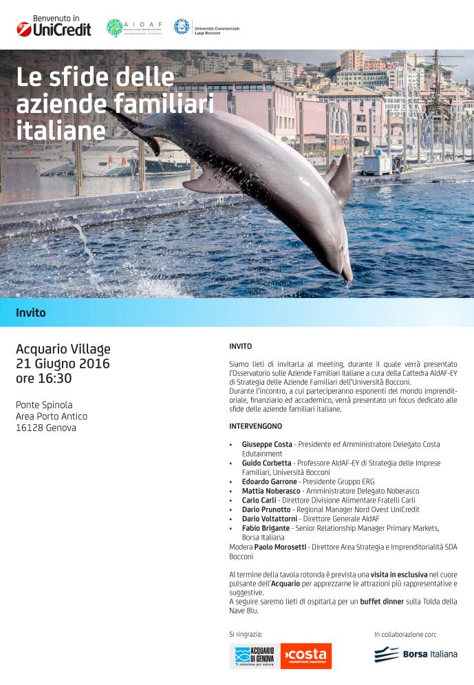 invito focus sfide imprese familiari italiane